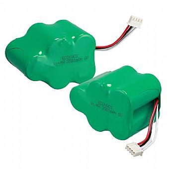 מגה וברק זוג סוללות נטענות לשואב אבק רובוטי אקווקס דיבוט Ecovacs Deebot IV-26