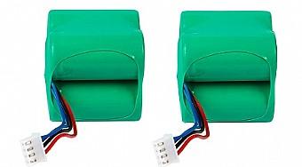 מעולה זוג סוללות נטענות לשואב אבק רובוטי אקווקס דיבוט Ecovacs Deebot OX-91